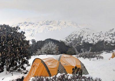 Camping in Nag Pokhari