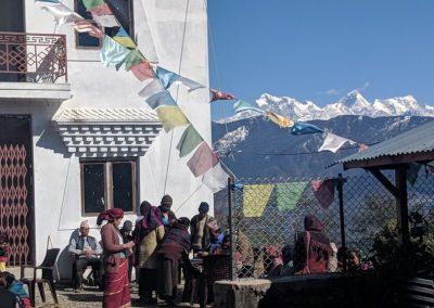 Local village, Nag Pokhari