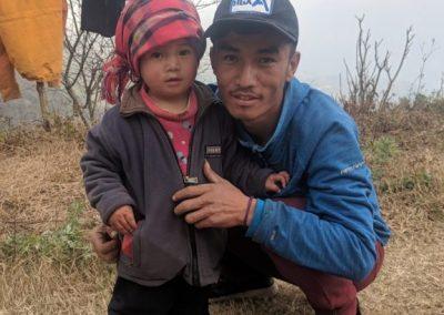 Local villagers, Nag Pokhari