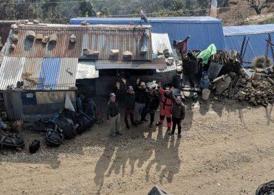 Locals enroute to Nag Pokhari
