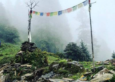 Prayer flags - Nepal, 2019