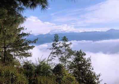 View enroute to Nag Pokhari