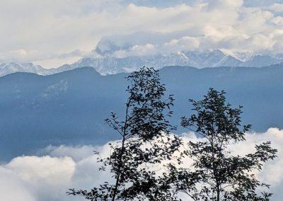View from Nag Pokhari