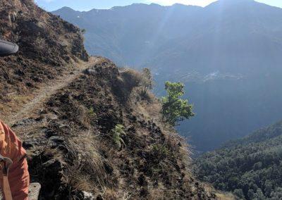 Views enroute to Nag Pokhari
