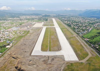 airport runway, Kathmandu